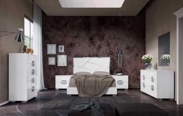 Определяемся со стилем для спальни: минимализм и поп-арт