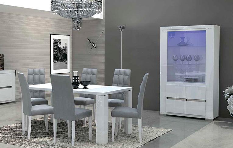 Столовые группы Elegance Diamond White