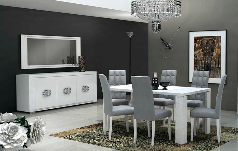 Гостиная Elegance Diamond White Lux