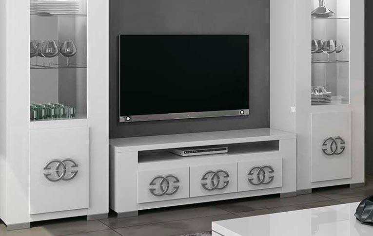Мебель для ТВ Elegance White Lux