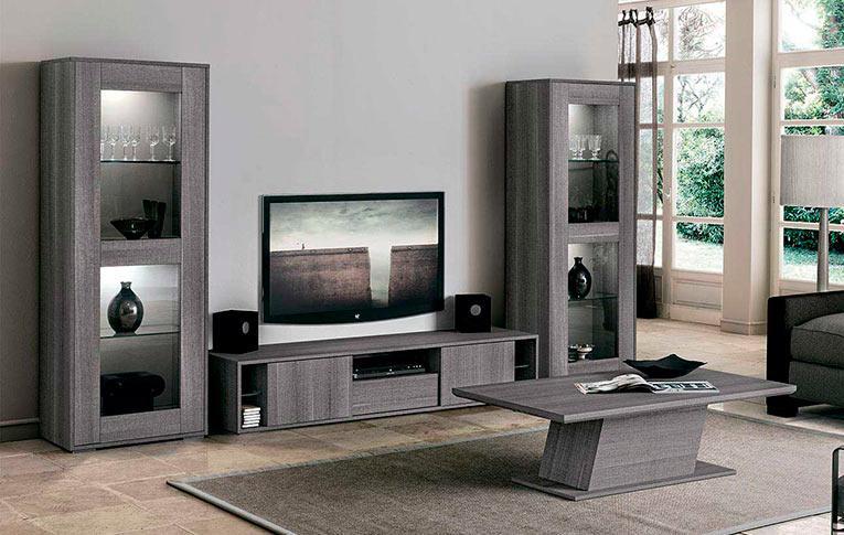 Мебель для ТВ Futura Grey